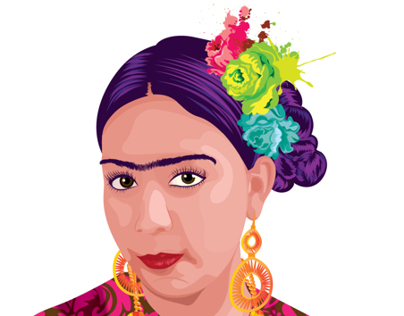 Frida pop art
