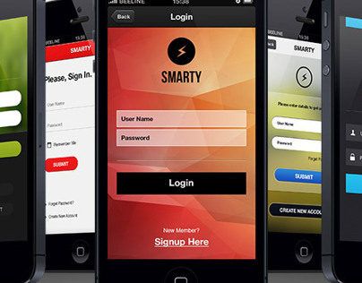 Ultimate Mobile Login Designs