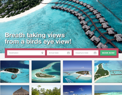 W.O.W. Maldives - website design & development