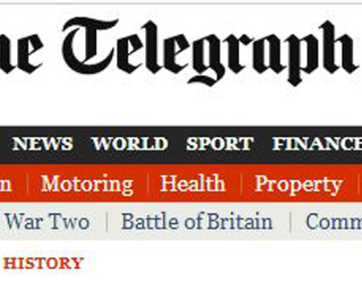 Censored by the Daily Telegraph