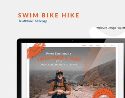 Triathlon Challenge Web Design