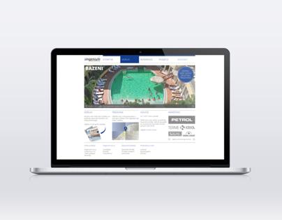 Singenium, website redesign