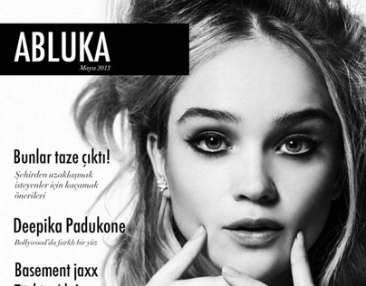 Magazine Design - Abluka