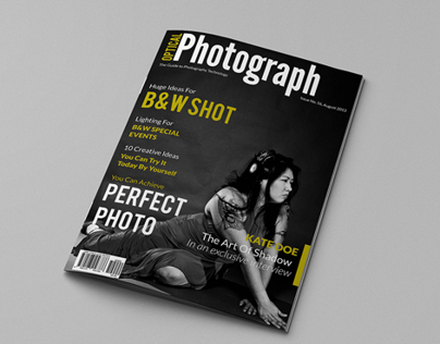 Photograph Magazine Cover