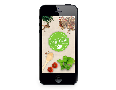 Hello Fresh Mobile App