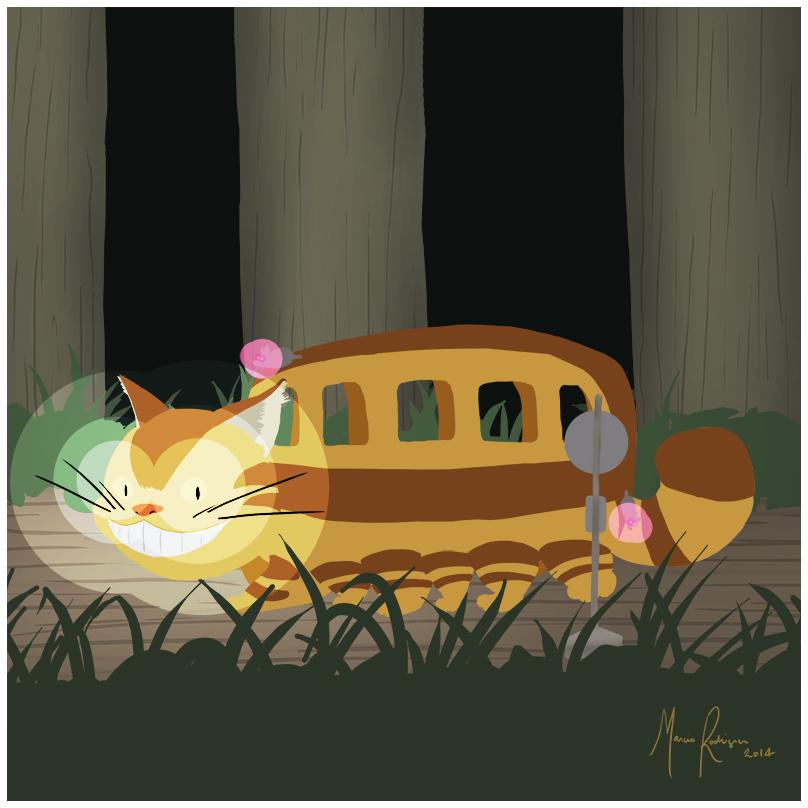 Cat Bus @Ghibli Jam 2014