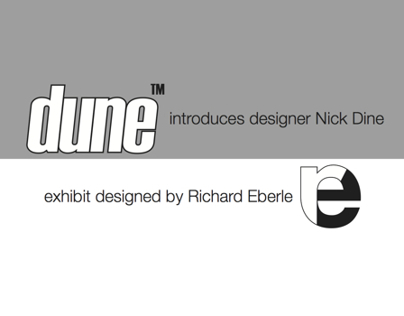 Exhibit Design: Dune introduced Nick Dine at ICFF