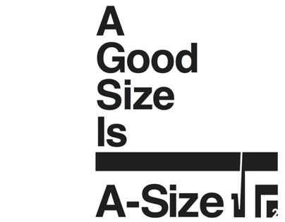 An Exhibit on A-Size Paper