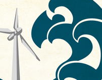 Wind Turbine Icons