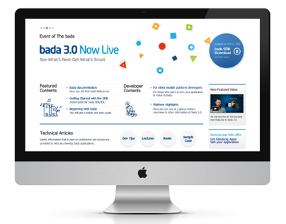 bada 3.0 website renewal