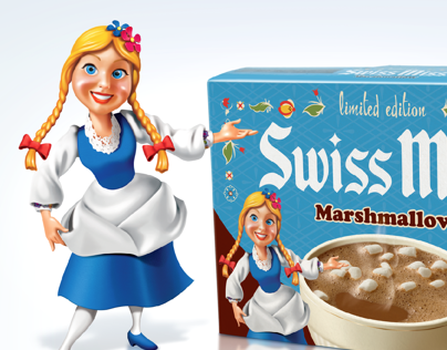Swiss Miss Retro Packaging