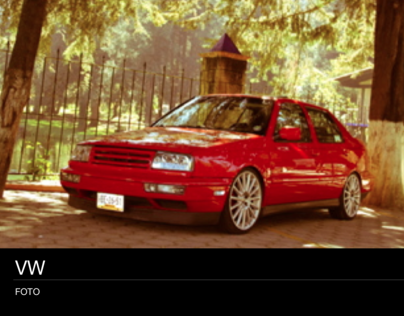 VW MK·3 PHOTO