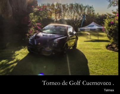 Torneo de golf Cuernavaca