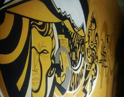 Brewhouse Wall Mural, Pune   India