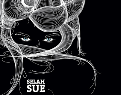 Graphic illustration about Selah Sue