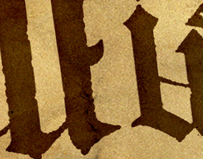 He Is // I Am ambigram