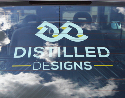 Distilled Designs Branding