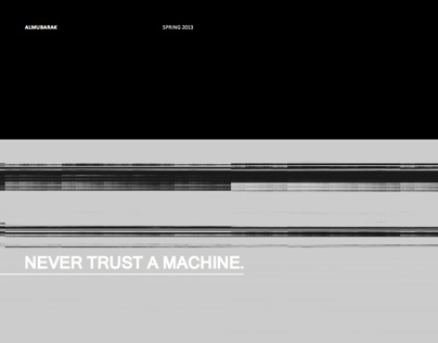 Never trust a machine
