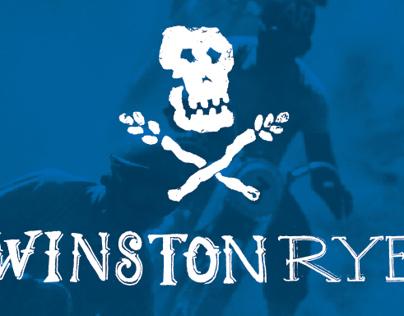 Winston Rye Whiskey Packaging