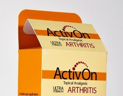 ActivOn (Corporate Identity Board & Packaging)