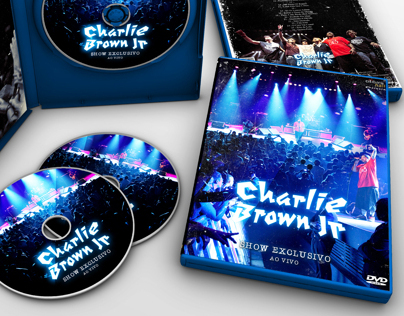 DVD Packaging | Charlie Brown Jr - Show Exclusivo 2011
