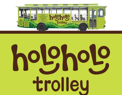 Holoholo Trolley Logo and Collateral