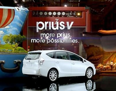 Toyota Prius V - More Prius. More Possibilities.