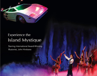 Magic of Polynesia Brochure Design