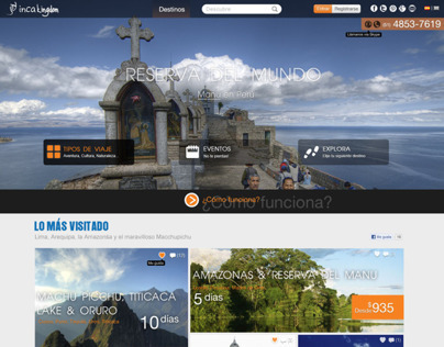 Design UI Theme for a Travel Agency - Wordpress Project
