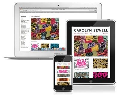 Carolyn Sewell adaptive website