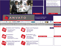 ANVATO - Web design for Video viewing monitoring
