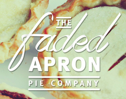 The Faded Apron Pie Company Logo