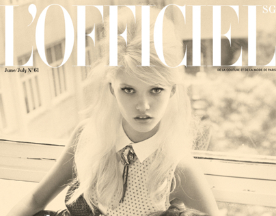 LOfficiel Singapore June – July 2013