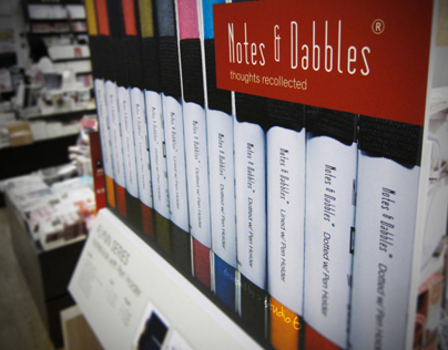 Notes & Dabbles® | Display Design