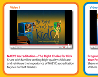 Promotional Materials Video House Ad for NAEYC