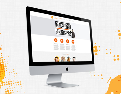 Orange Technology - Responsive Business Website