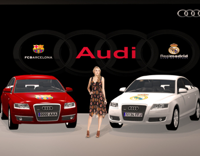 AUDI. FCBarcelona VS Real Madrid exclusive event