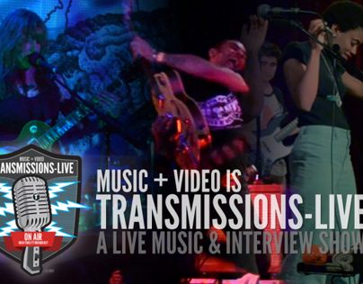 Transmissions LIVE Marketing & Branding Projects