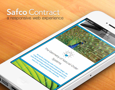 Safco Contract - a responsive web experience