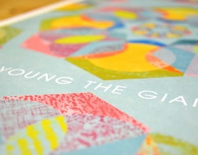 Young the Giant Concert Poster