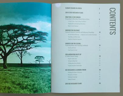 Global Environmental Change Research Magazine