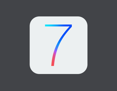 iOS 7 Icon R-edesign