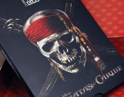 Box Especial Piratas do Caribe
