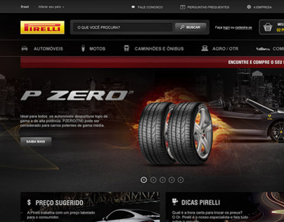 E-commerce Pirelli
