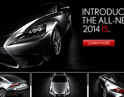 2014 Lexus IS Launch Email