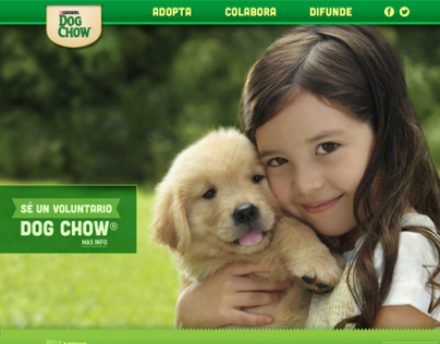 Nestlé® / Purina Dog Chow® / web.