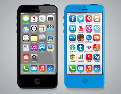 iOS 7: Redesigned Icons Free