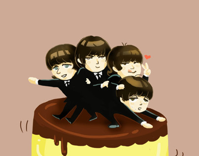 beatles pudding