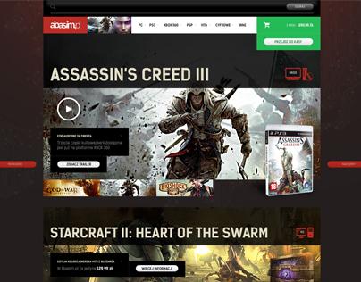 Abasim - Online store