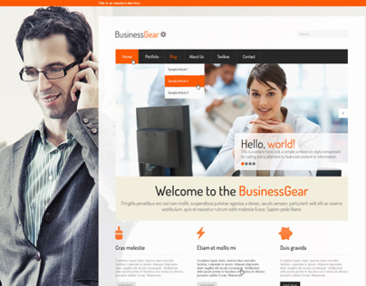 Business Gear Template